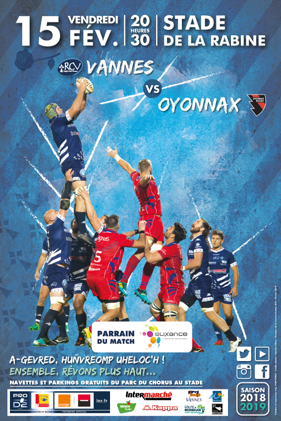 Rugby RC Vannes-Oyonnax